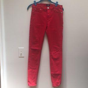 Red Hudson Jeans